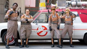 Leslie Jones, Melissa McCarthy, Kristin Wiig and Kate McKinnon are the next generation of Ghostbusters.