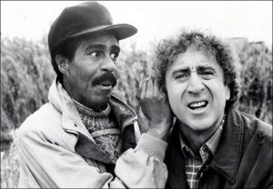 Richard Pryor and Gene Wilder would become one of the great comedic teams in four movies together.
