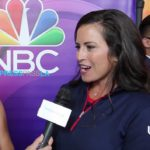 GERINA PILLER TALKS GOLF AT THE RIO OLYMPICS