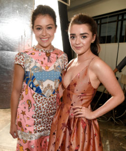Tatiana Maslany_Maisie Williams