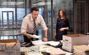 Ben Affleck and Anna Kendrick attempt romance in the thriller The Accountant.