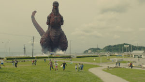 Godzilla returns to Tokyo in the first reboot of the monster since 1985.