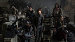 The Rebels come together to fight in Rogue One.