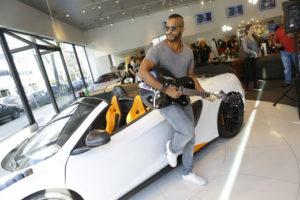 McLaren and Maserati