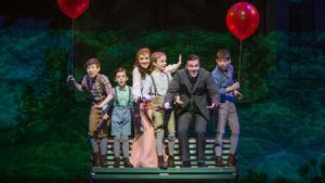 The new cast of Finding Neverland.