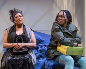 "Carla Renata and Ngozi Anyanwu in the world premiere of ""Good Grief."