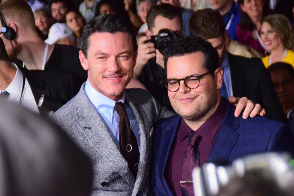 Luke Evans_Josh Gad_Beauty and the Beast