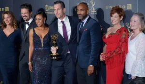 "The cast of ""General Hospital"" at the Daytime Emmy Awards. (Stewart Cook/REX/Shutterstock)"