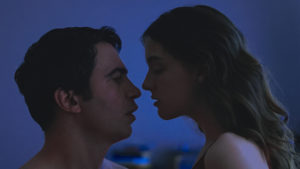 "Chris Messina and Quinn Shepard in ""Blame""."