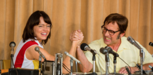 'Battle of the Sexes', featuring stars Emma Stone and Steve Carrell (Courtesy of TIFF)