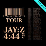 JAY-Z DROPS 4:44 TOUR DATES!