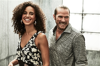 Jason Lewis_Parisa Fitz_Press Pass LA