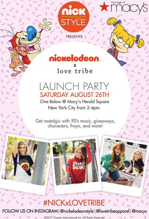 Media Invite_Love Tribe_Nickelodeon