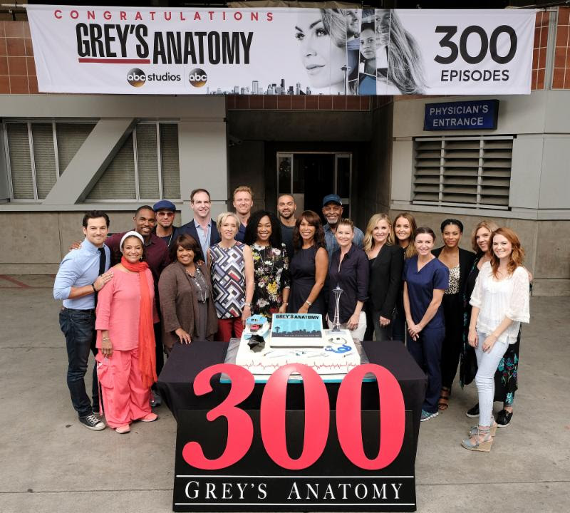 Grey\'s Anatomy Celebrates Landmark 300th Episode! - Press Pass LA