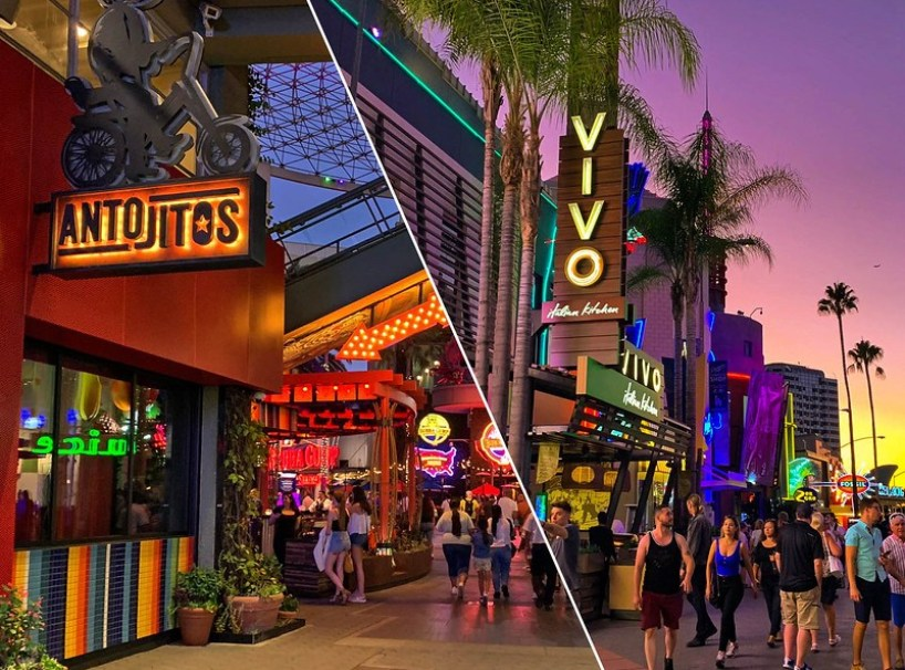 Universal City Walk Ups Their Dining Experiences Press